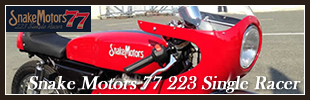 SNAKE MOTORS 77 223Single Racer