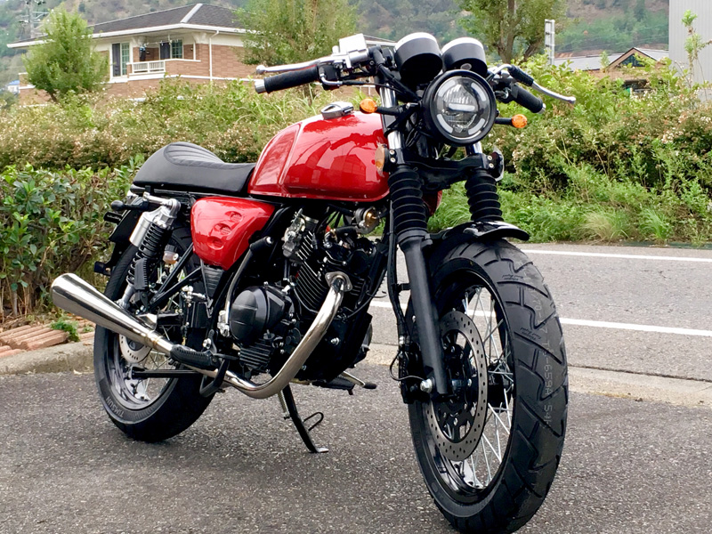 ARROWS CAFE RACER125